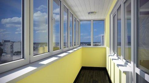 Процесс утепления балкона и лоджии при остеклении