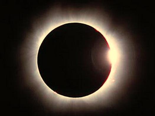 Весной крымчане смогут наблюдать полное солнечное затмение
