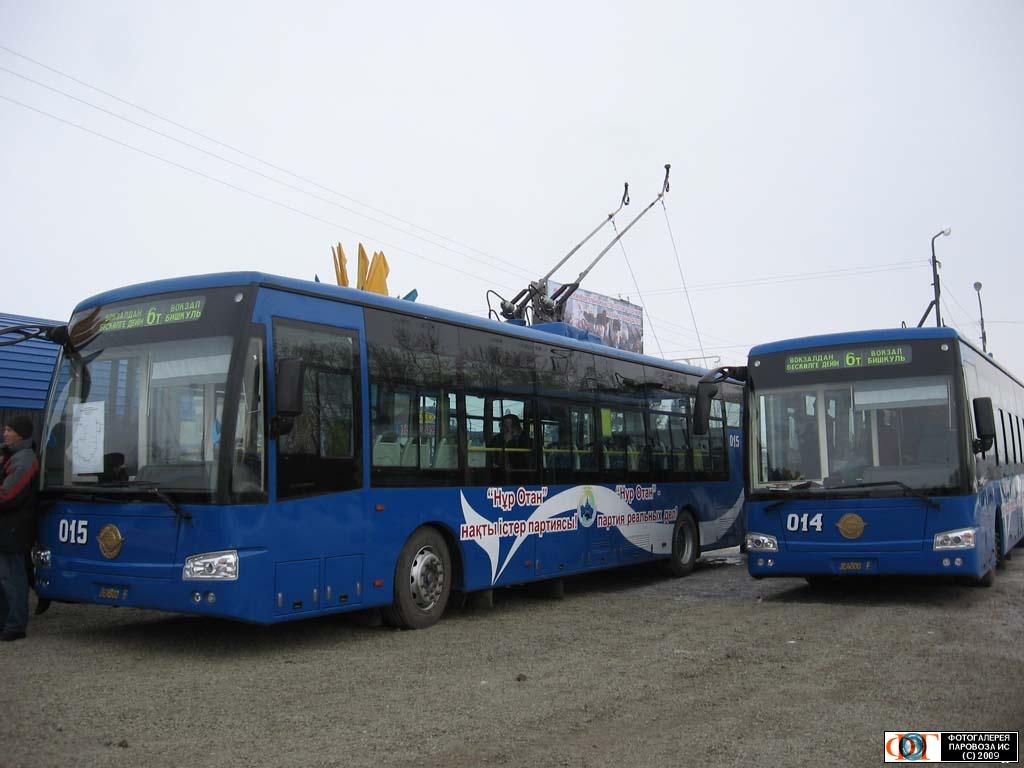 В Керчи могут появиться троллейбусы - гибриды