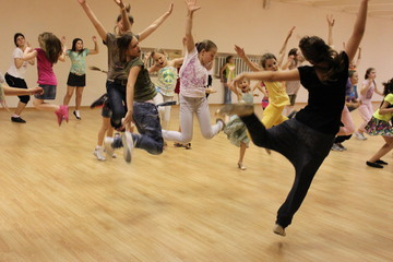 В Крыму во второй раз открылась зимняя танцевальная резиденция