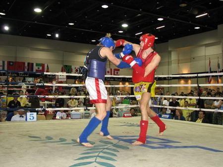 В Евпатории состоялся чемпионат по тайскому боксу