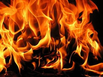 В Феодосии горела одна из квартир