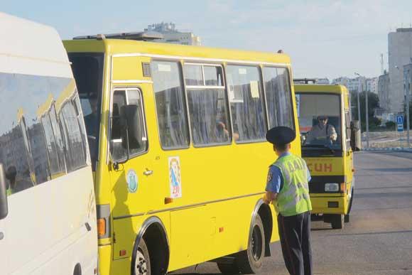 В Крыму массово проверяют автобусы