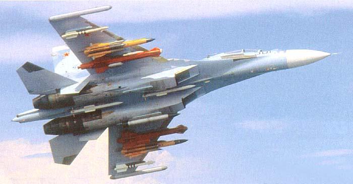 В Крыму начали эксплуатировать истребители Су-30