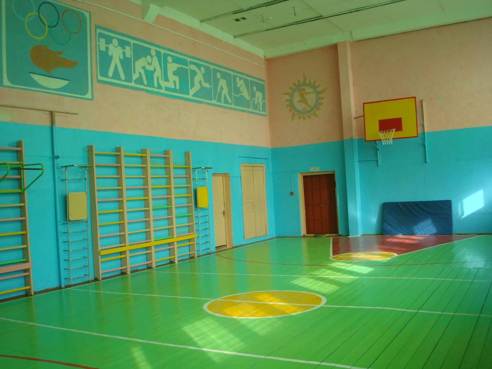 В Курской области дети занимаются в опасных спортзалах