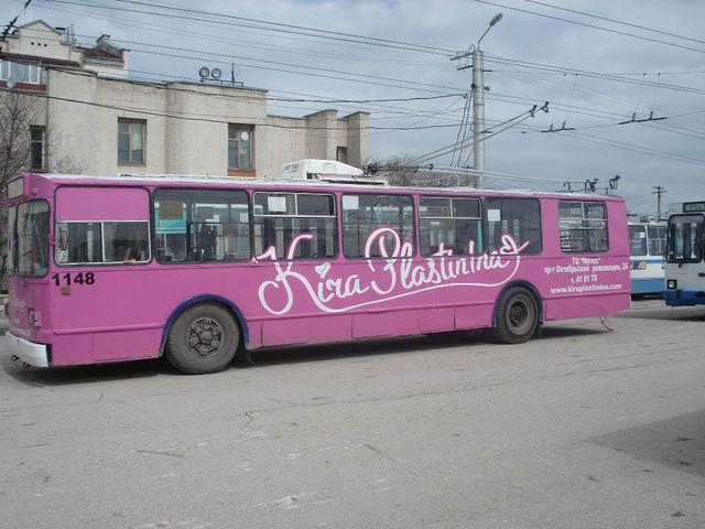 «Крымтроллейбус» просит сохранить рекламу в транспорте