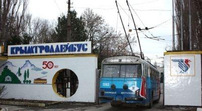 Аксенов пообещал погасить все задолженности по зарплате сотрудникам «Крымтроллейбуса»