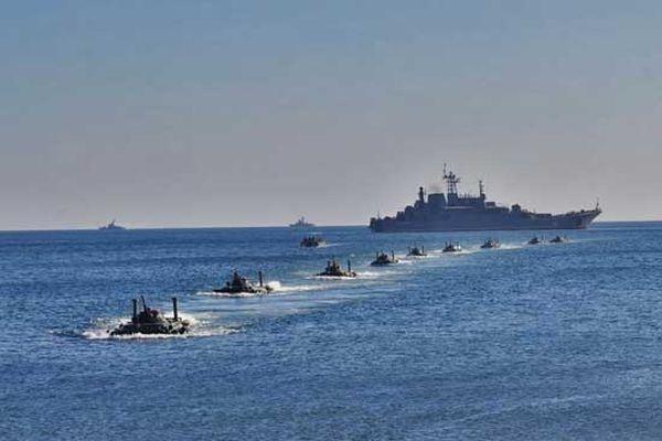 Морские пехотинцы Черноморского флота будут переброшены на крымский полигон Опук