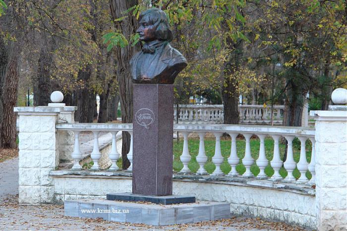 В Евпатории может появиться памятник Пушкину и Гончаровой