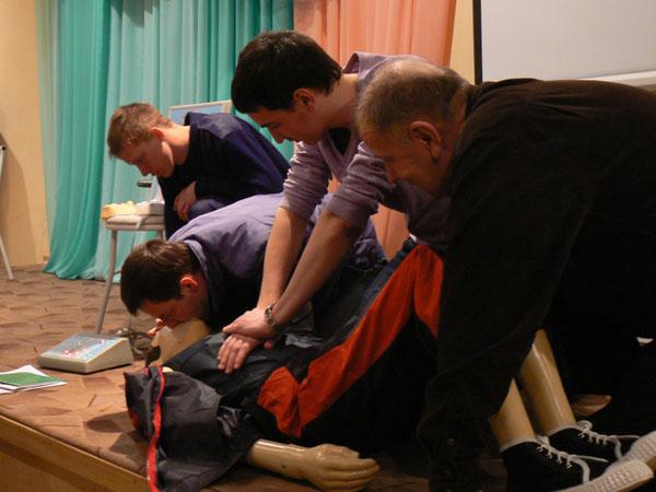 Желающие смогут пойти на курсы первой помощи от «Красного креста»