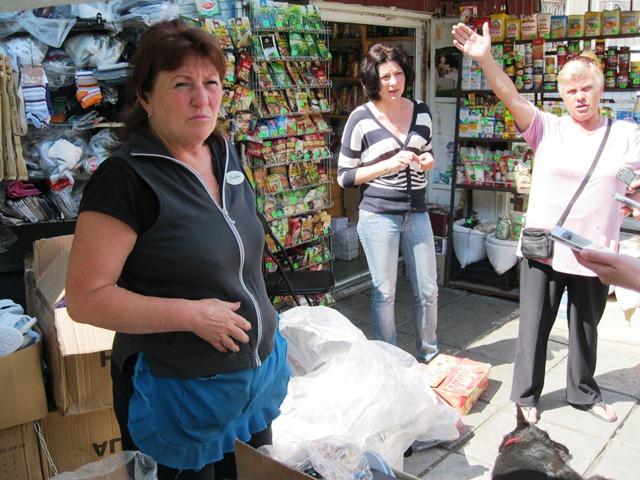 В Ялте начали демонтировать торговые ряды на рынке «Комсомолец»