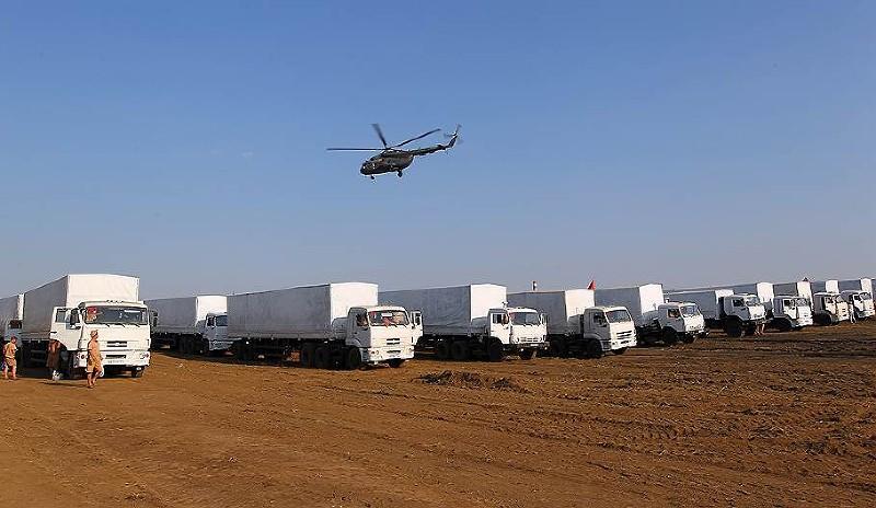На Юго-Восток Украины отправлен очередной гуманитарный конвой из Крыма