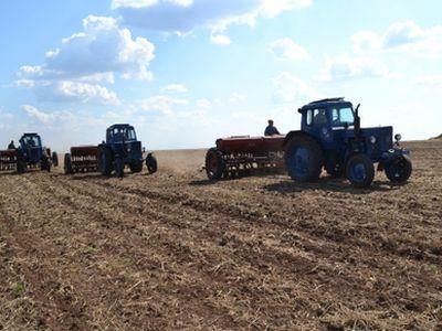 В Крыму засеяна уже почти половина полей
