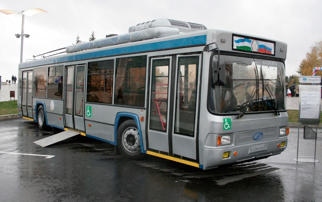 В Крыму будут испытывать троллейбусы из Башкирии