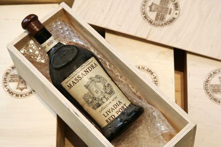 Вина под маркой «Массандра» не могут производить в Украине, - Павленко