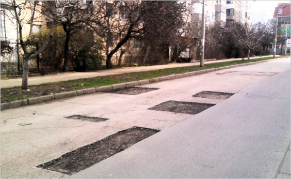 В Севастополе отремонтируют дорожное полотно