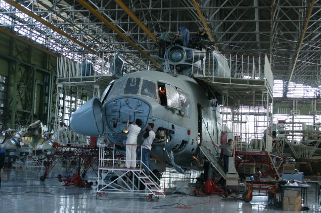 Севастопольскому авиационному заводу обещают стопроцентную загрузку