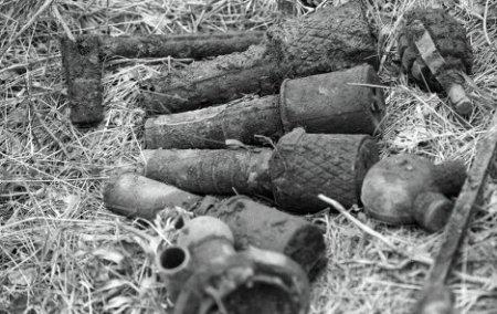 У жителей Ленинского района обнаружили запасы гранат