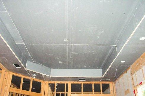 Пригоден ли гипсокартон для отделки потолков