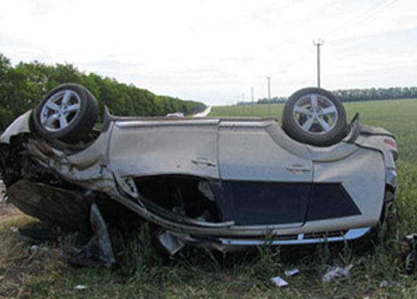 В Крыму нетрезвый водитель перевернул автомобиль