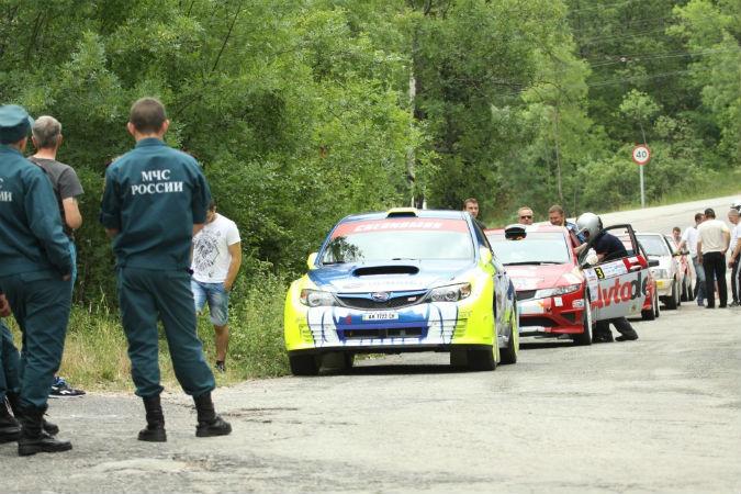 Под Алуштой пройдет горная автомобильная гонка