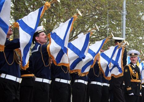 В Севастополе состоялась репетиция парада в честь 70-летней годовщины Победы в Великой Отечественной войне