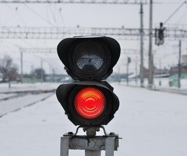 На станции «Джанкой» похитили железнодорожный светофор
