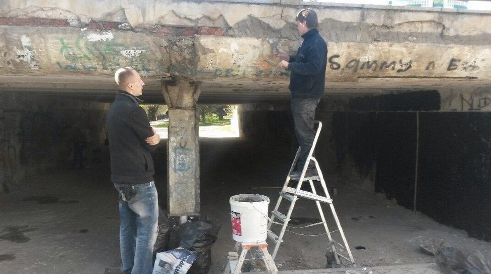 В Симферополе благоустроят подземный переход на улице Толстого
