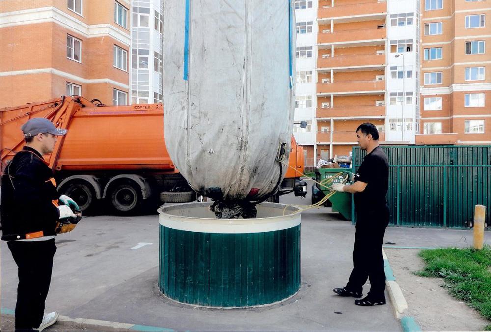Симферопольские мусорные контейнеры спрячут под землю