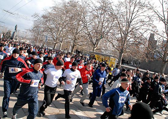 Все желающие смогут поучаствовать в 10-километровом забеге в Севастополе
