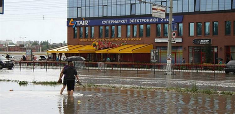 Бахарев уверен, что в подтоплении Симферополя виноват «Меганом»