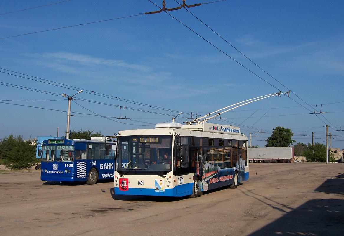 В Севастополе планируют закупить новые троллейбусы