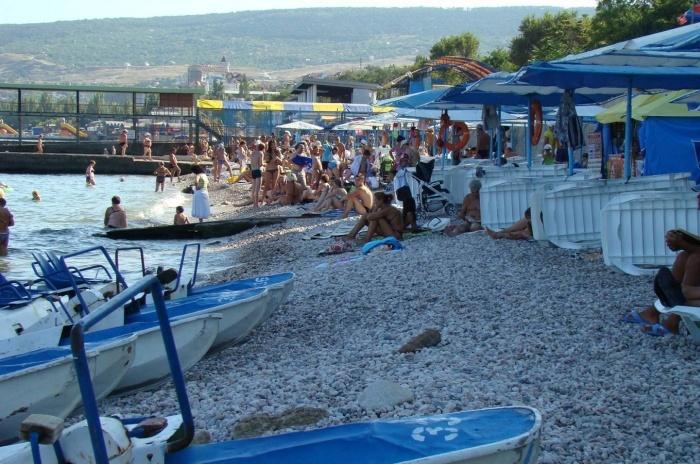 Крымские туристы предпочитают отдых на Южном берегу Крыма