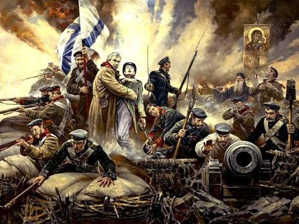 В Севастополе работает выставка «Мы — русские, с нами Бог!»