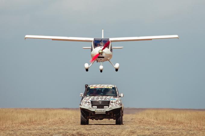 Авиаторы и автомобилисты-экстремалы соберутся в Крыму
