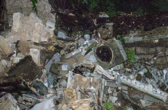 В Керчи частично разрушилась Митридатская лестница