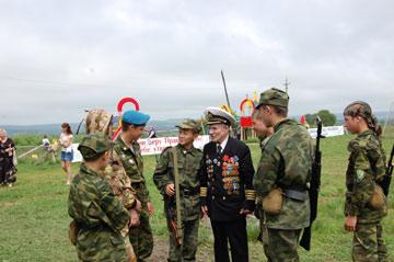 В Крыму намерены открыть патриотический лагерь