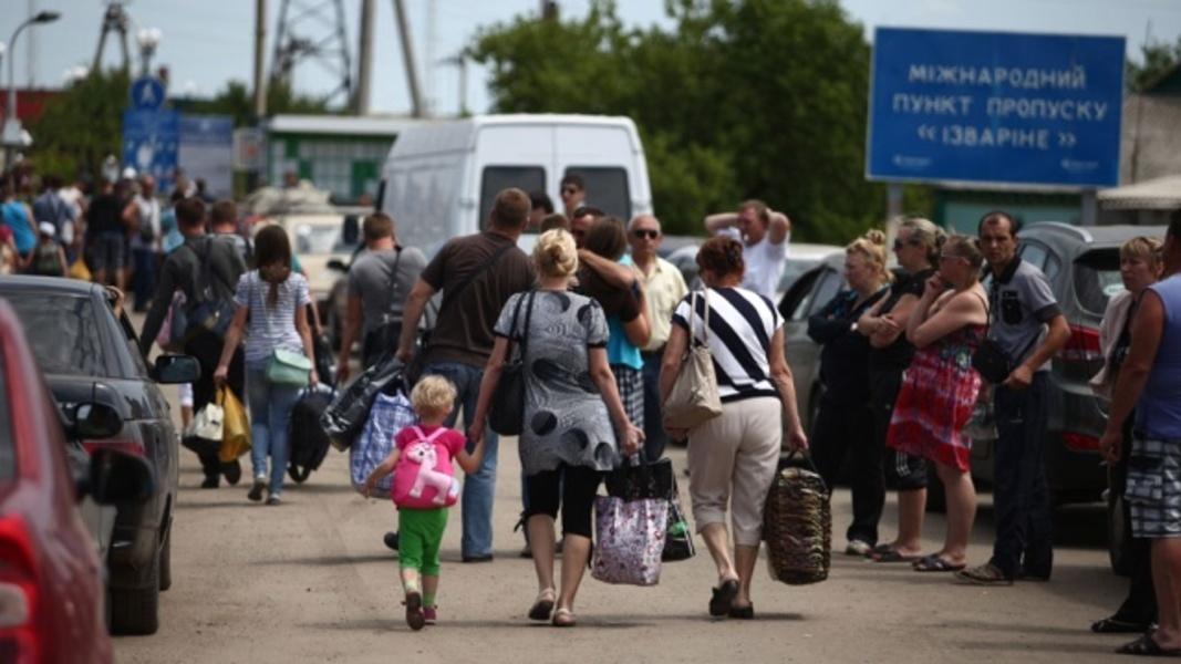 Украинских беженцев вывезут из Крыма на материковую России
