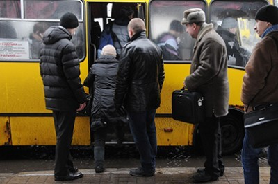 В Севастополе на маршрут выходят неисправные маршрутки