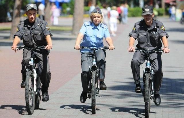 В курортных городах за порядком будут следить велосипедные патрули