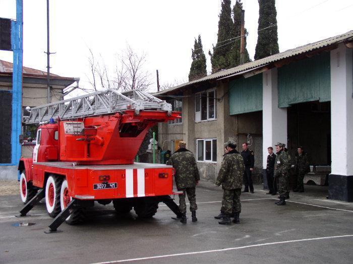 В Бахчисарайском районе появилась новая пожарная часть