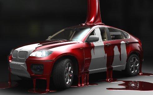 Секреты окраски автомобиля