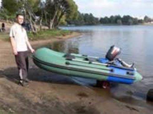 Как правильно хранить надувную лодку