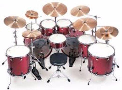 Из чего можно сделать барабанную установку