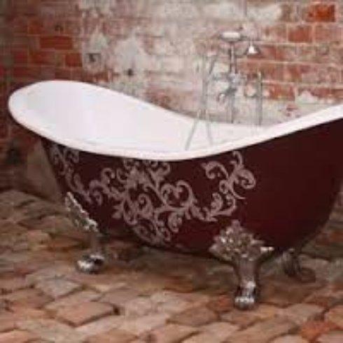 Как отреставрировать чугунную ванну?