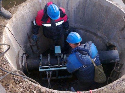 Устройство напорной канализации