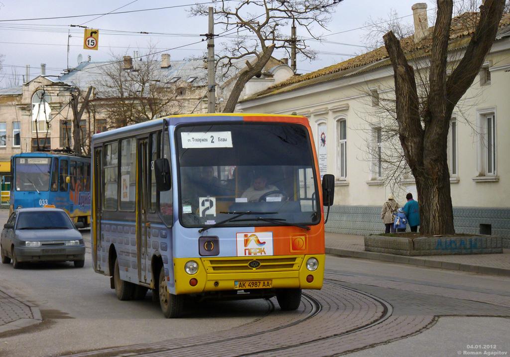 В Евпатории некоторые маршрутки будут ездить до 11 вечера