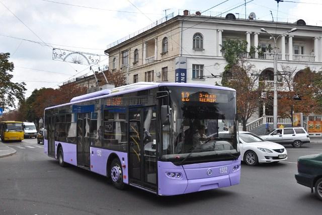 В рамках лизинга Севастополь в этом году получит 20 единиц общественного транспорта