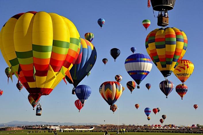 В Коктебеле состоится фестиваль воздухоплавания