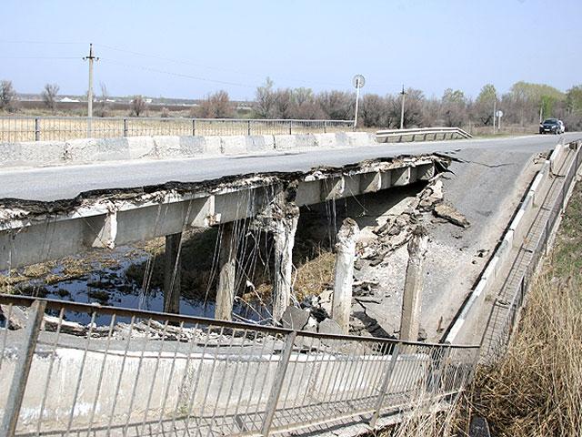 Временный мост в Джанкойском районе появится лишь через три недели